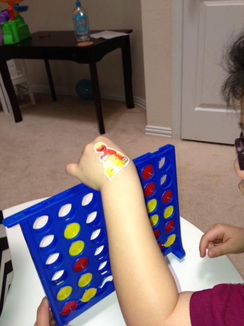 Using The Basic Connect 4 Game To Work On Color Descrimination In Hand Manipulation Counting Fine Motor Skills Skills Development Sensory Processing Disorder