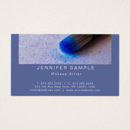 Makeup artist cosmetic salon elegant creative business card reheart Choice Image
