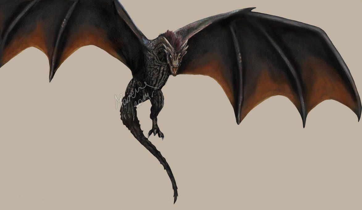 Game Of Thrones Drogon By Https Www Deviantart Com Acinoyx On