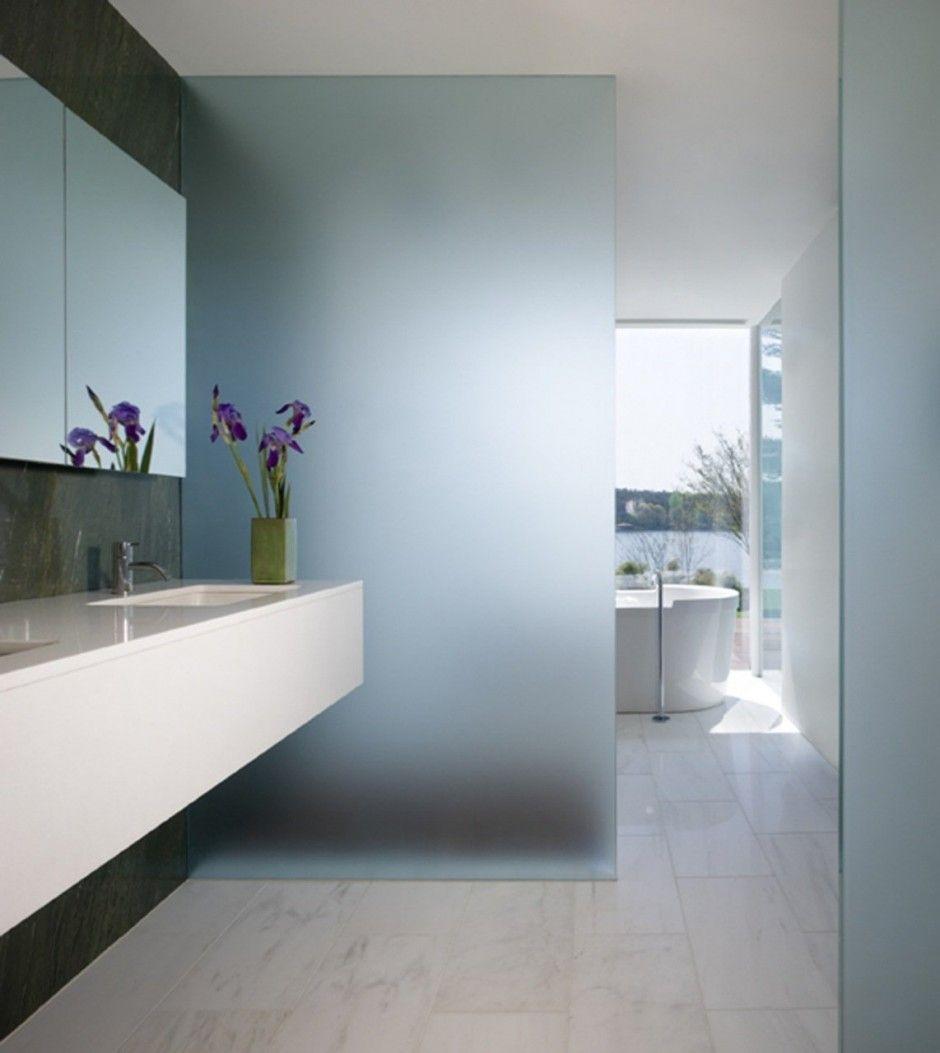 Bathroom Glass Partition Bathrooms Pinterest Glass Partition - Glass partition wall bathroom