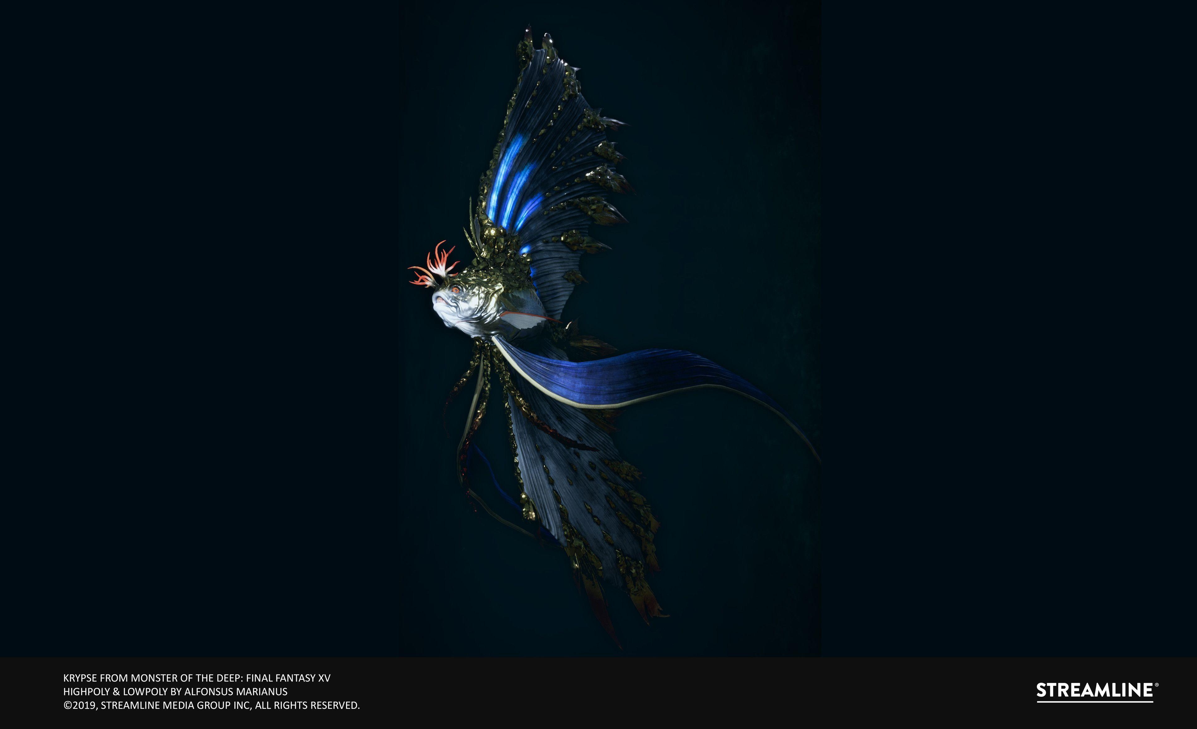 Artstation Krypse Monster Of The Deep Final Fantasy Xv Alfonsus Marianus Final Fantasy Xv Final Fantasy Fantasy Monster of deep final fantasy xv