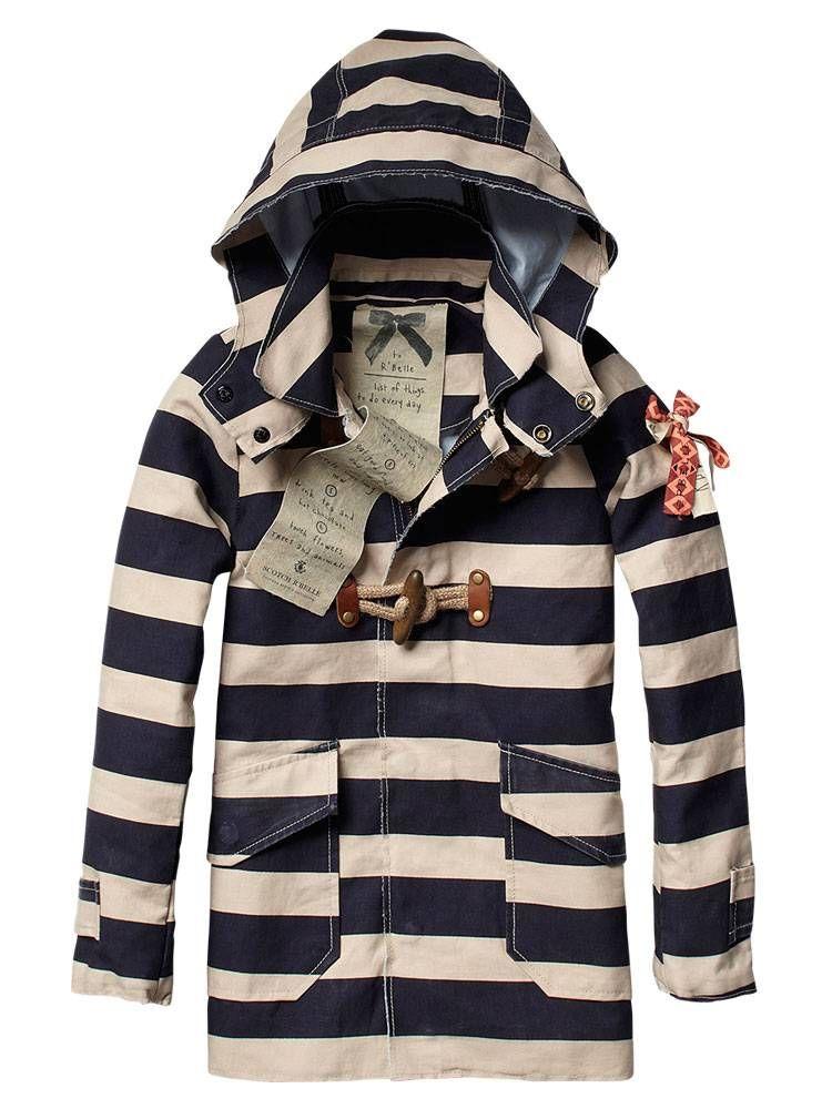 vintage raincoat.