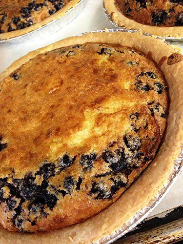 Easy As Blueberry Buttermilk Pie Buttermilk Pie Sweet Recipes