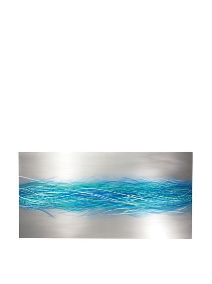 "C'Jere by Artisan House ""Electric Storm"" 3-Dimensional Wall Sculpture"