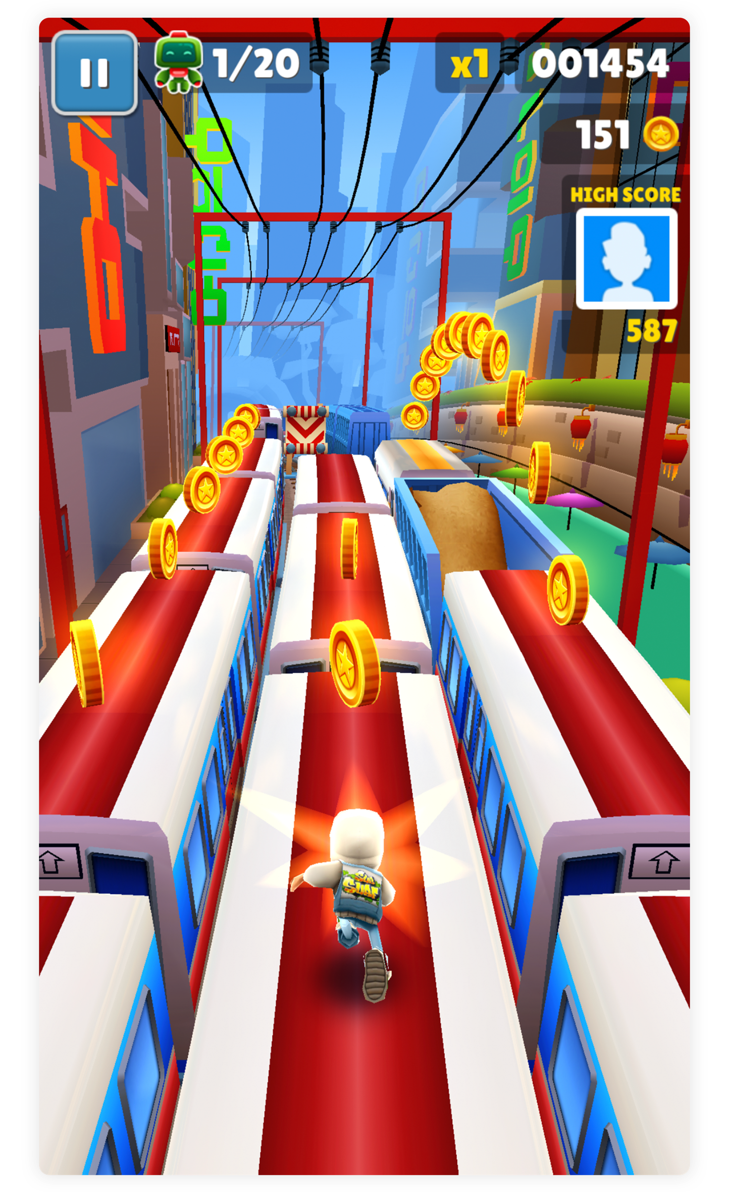 Game of the Day Subway Surfers in 2020 Subway surfers