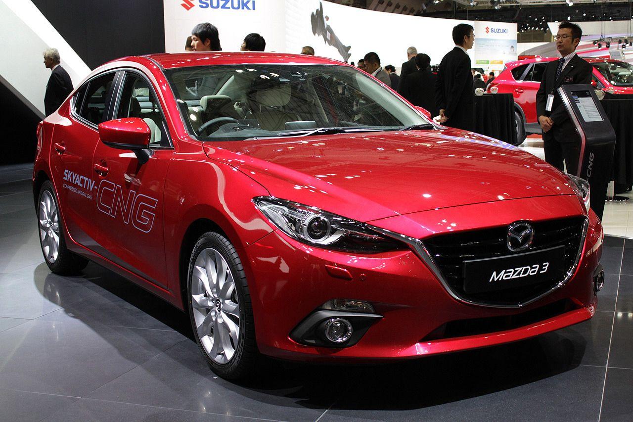 2013 Mazda 3 SkyActiv-CNG