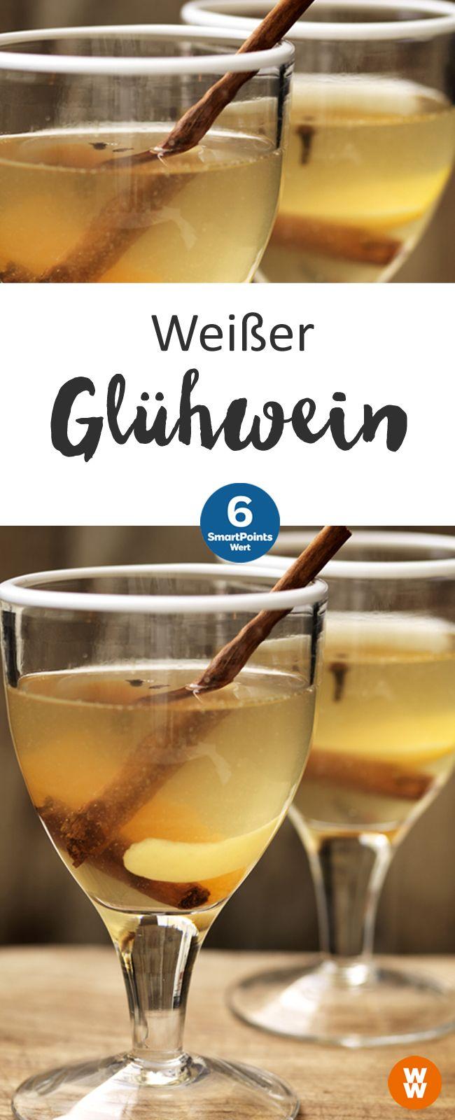 Weißer Glühwein | Rezept | Pinterest | Weißer glühwein, Glühwein und ...