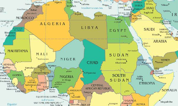 Memorizing the Geography of Africa | in the class room | How to