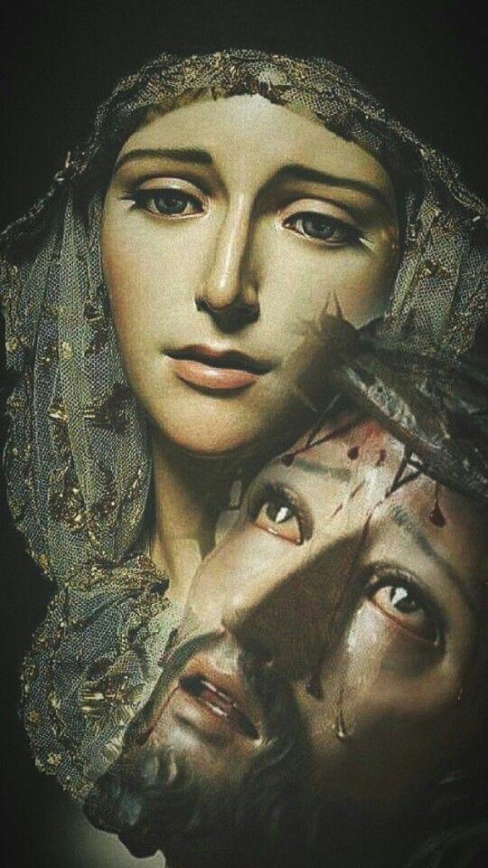 Maria E Jesus Pasos Pinterest Mary Mother Mary And Virgin Mary