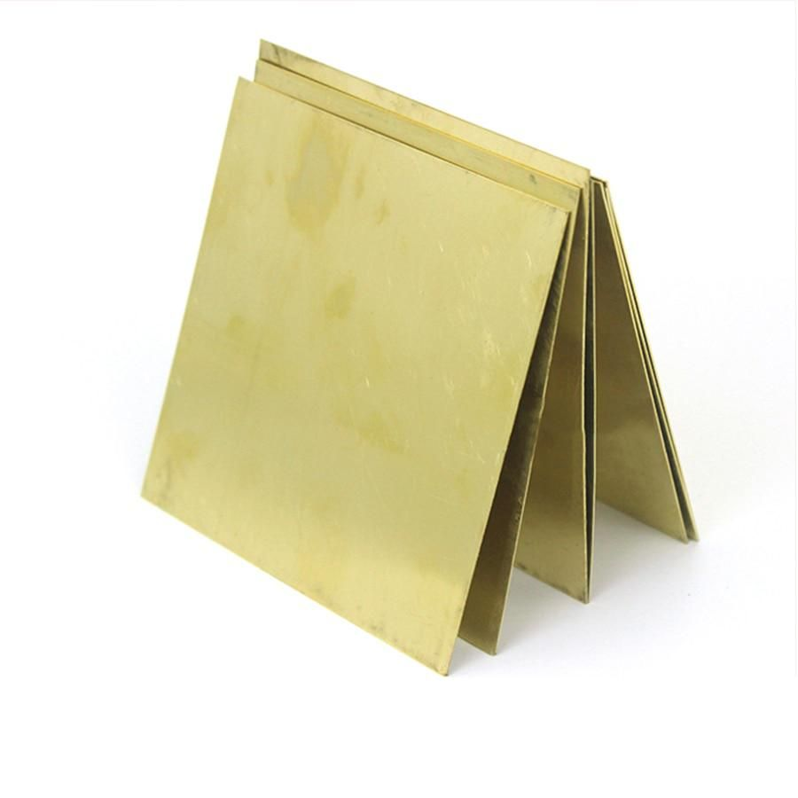 1pcs Square Brass Copper Plate Sheet Metal 50 50mm 100 100mm Yesterday S Price Us 3 80 3 42 Eur Today S Price Feb Brass Copper Copper Plated Sheet Metal