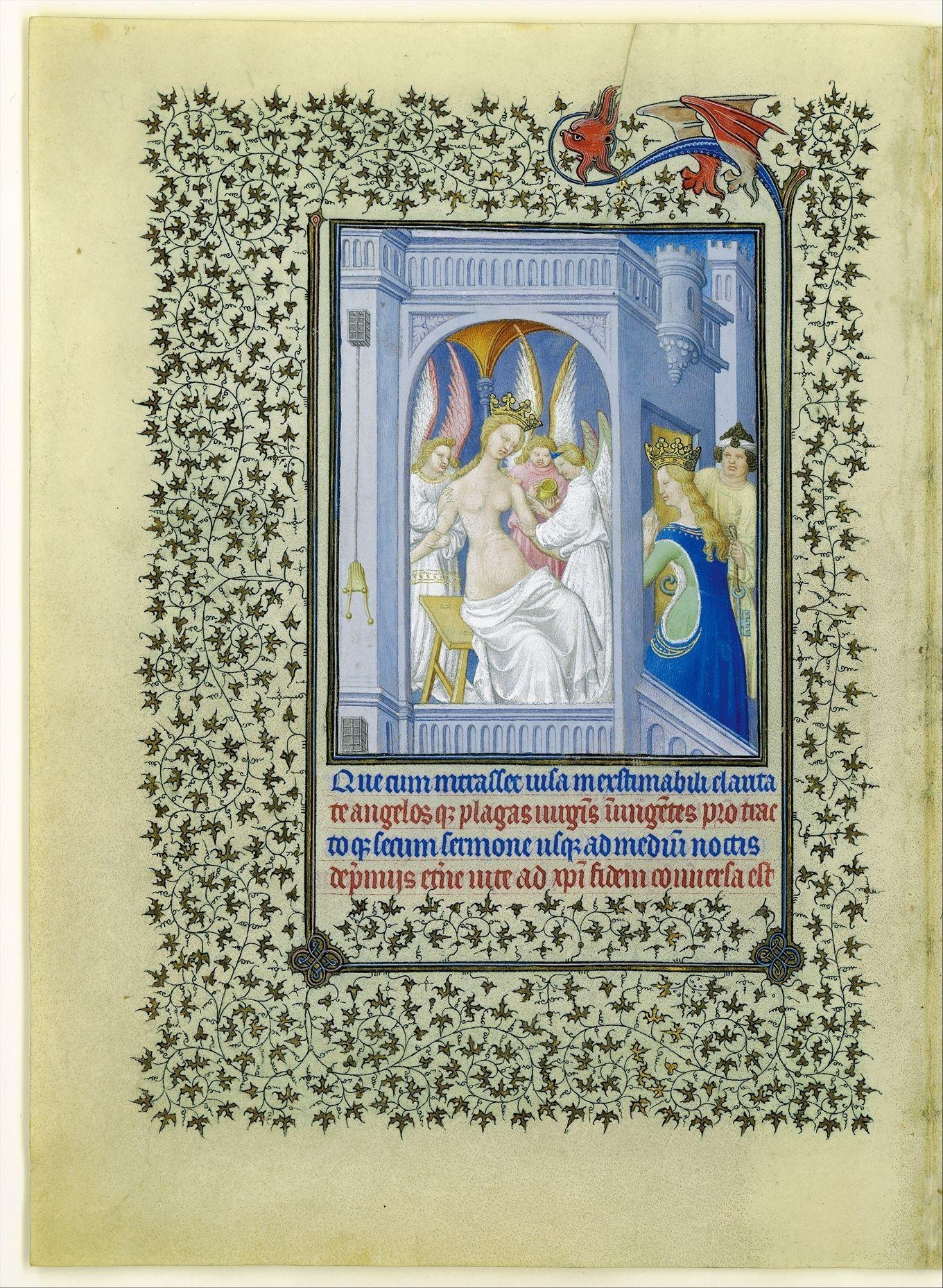 The Belles Heures of Jean de France, Duc de Berry, illuminator: 1405–1408/1409, Herman, Paul and Jean de Limbourg (1399–1416)