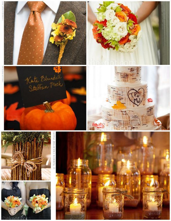 Share Your Colors wedding color theme october Wedding Ideas