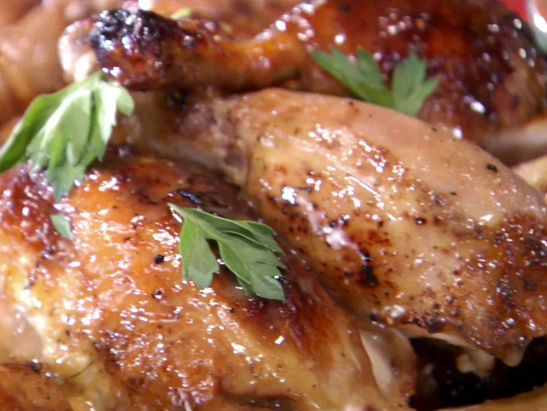 Rotisserie Chicken With Black Pepper Vinegar Sauce Recipe Food