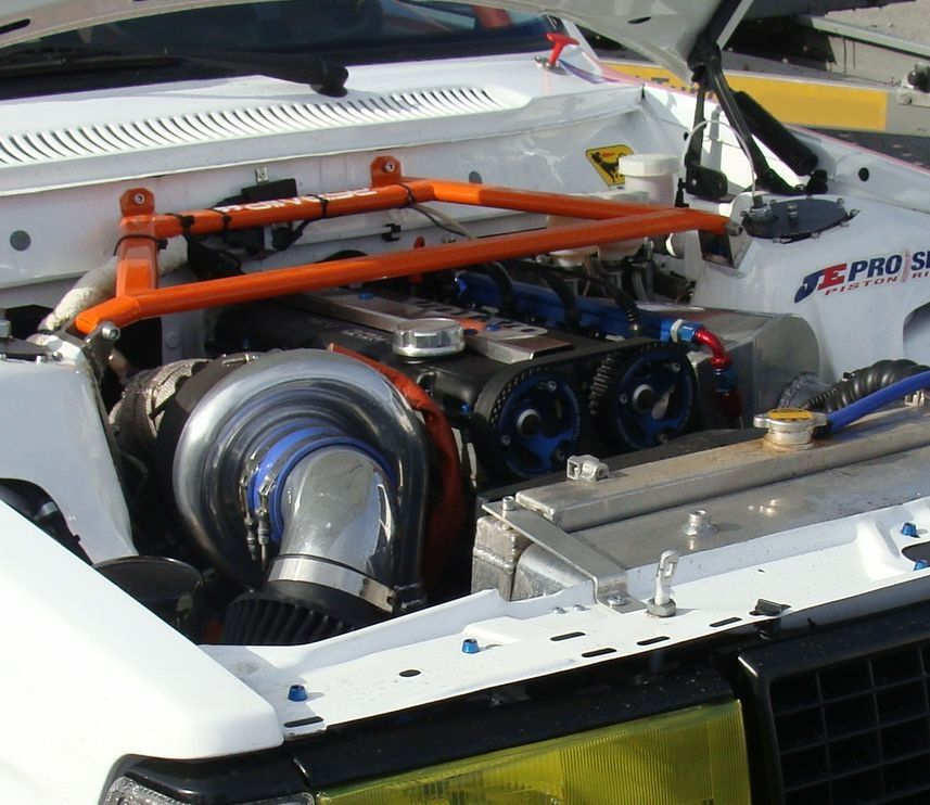 240 Competition Car With Strong Chassis Brace Volvo 240 Volvo