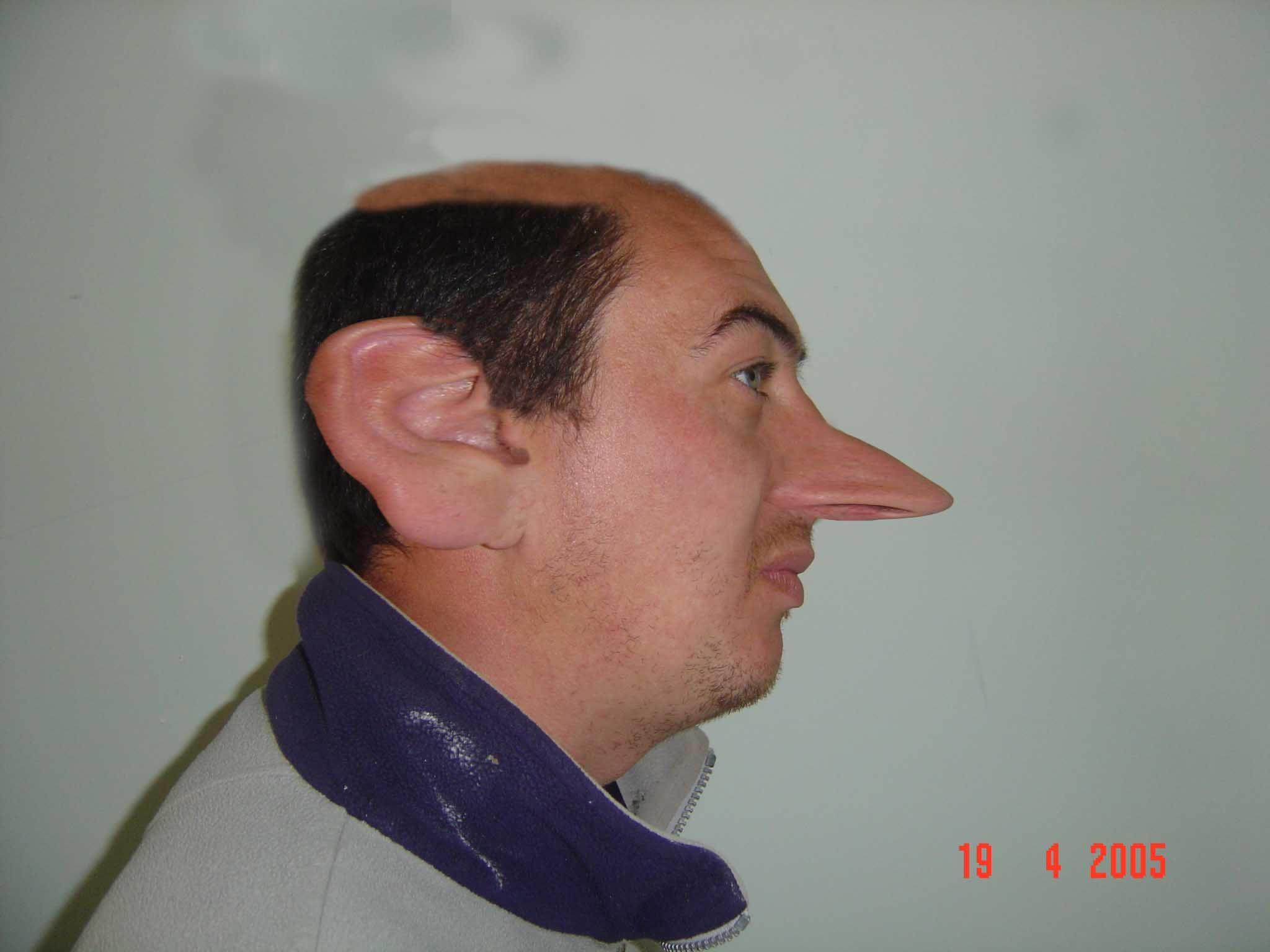 Член вместо носа 8 фотография