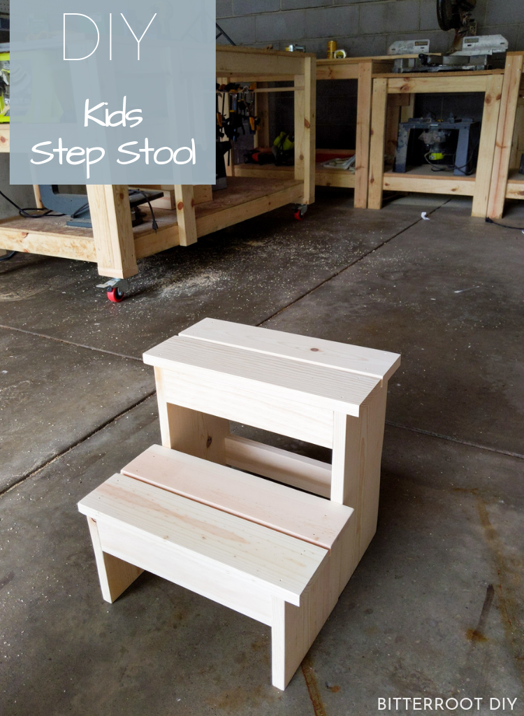 Kid S Step Stool In 2020 Step Stool Kids Step Stool Diy Diy Stool