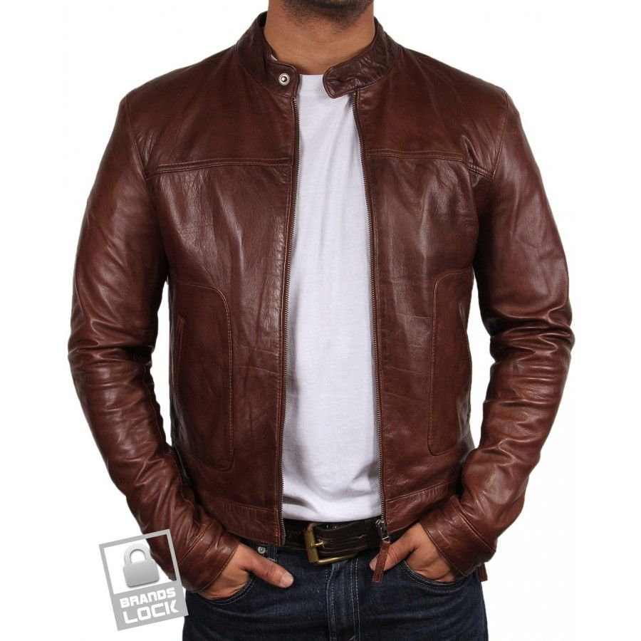 Brown Leather Bomber Jackets For Men Pictures1000.com ...