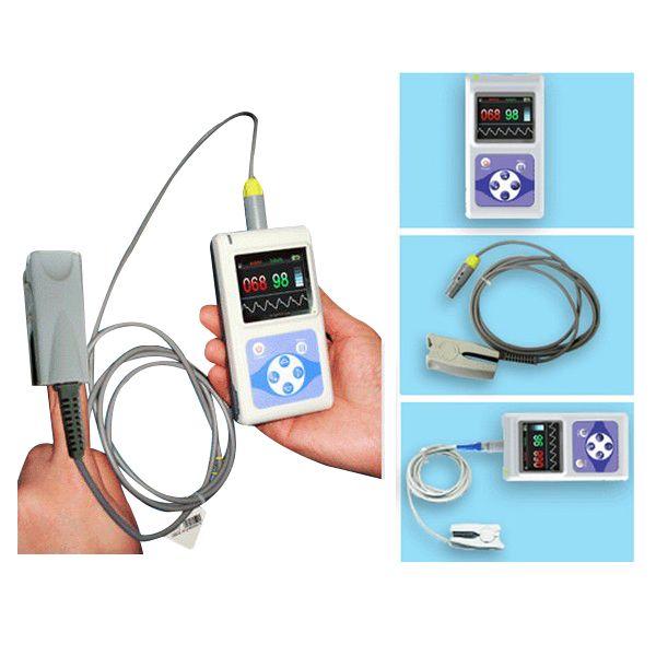 CMS60D Veterinary Hand Held Pulse Oximeter,Vet Use Probe +