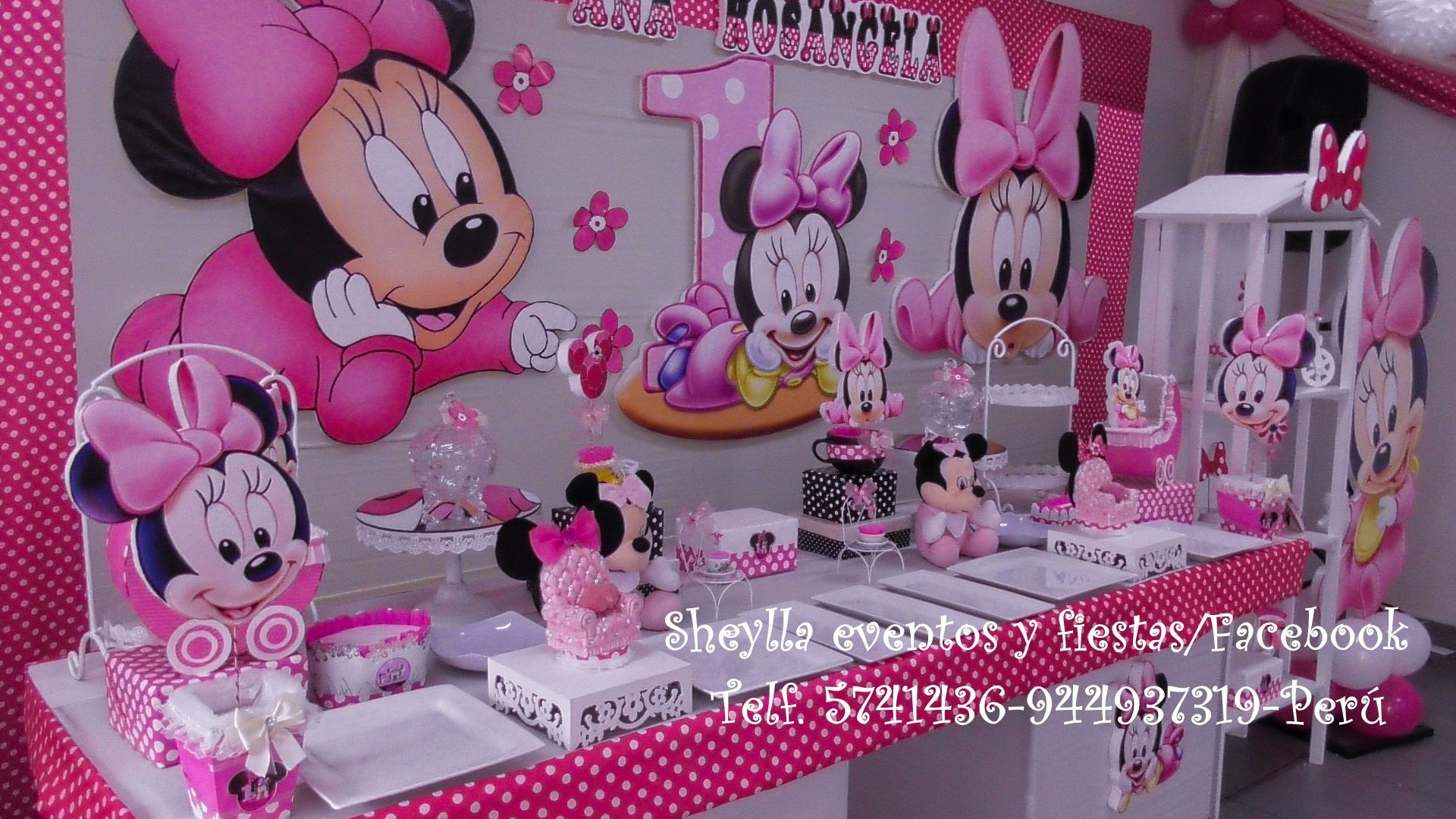 minnie decoracion minnie coqueta bebe boutique