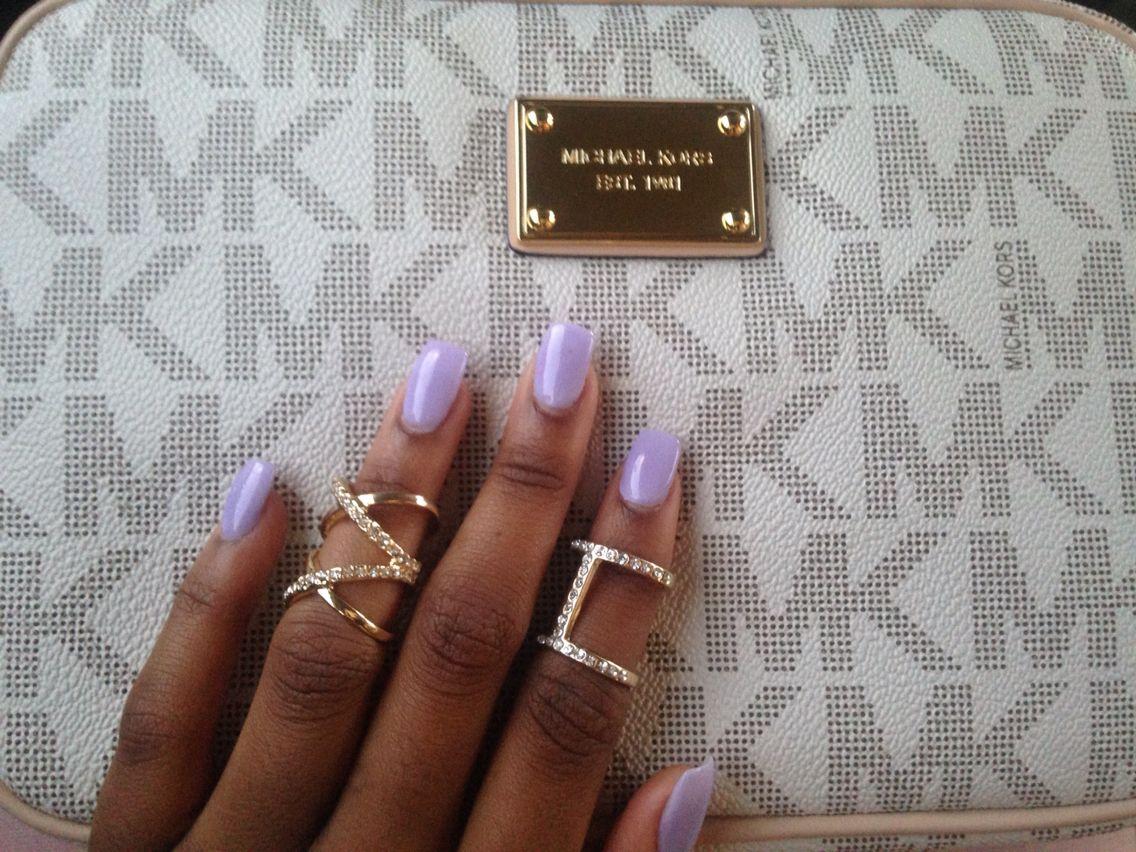 Lavender nexgen nails shade 18 | Nails ideas | Pinterest | Nail ...