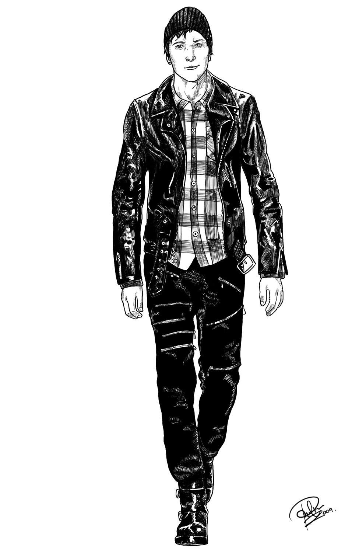 Images For U0026gt; Punk Rock Clothing Guys | Miss Winnu0026#39;s Garden - TV Series | Pinterest | Rock ...