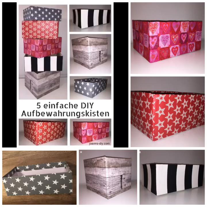 Photo of DIY Aufbewahrungsboxen