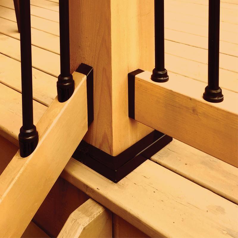 Best Snap N Lock Baluster Kit Round Wood Railing Wood Deck 640 x 480