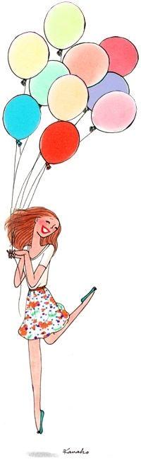 Iiiii Happy Birthday Kanako Dessin Illustration