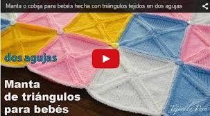Resultado de imagen para ajuar de bebes tejido a dos palitos paso a paso