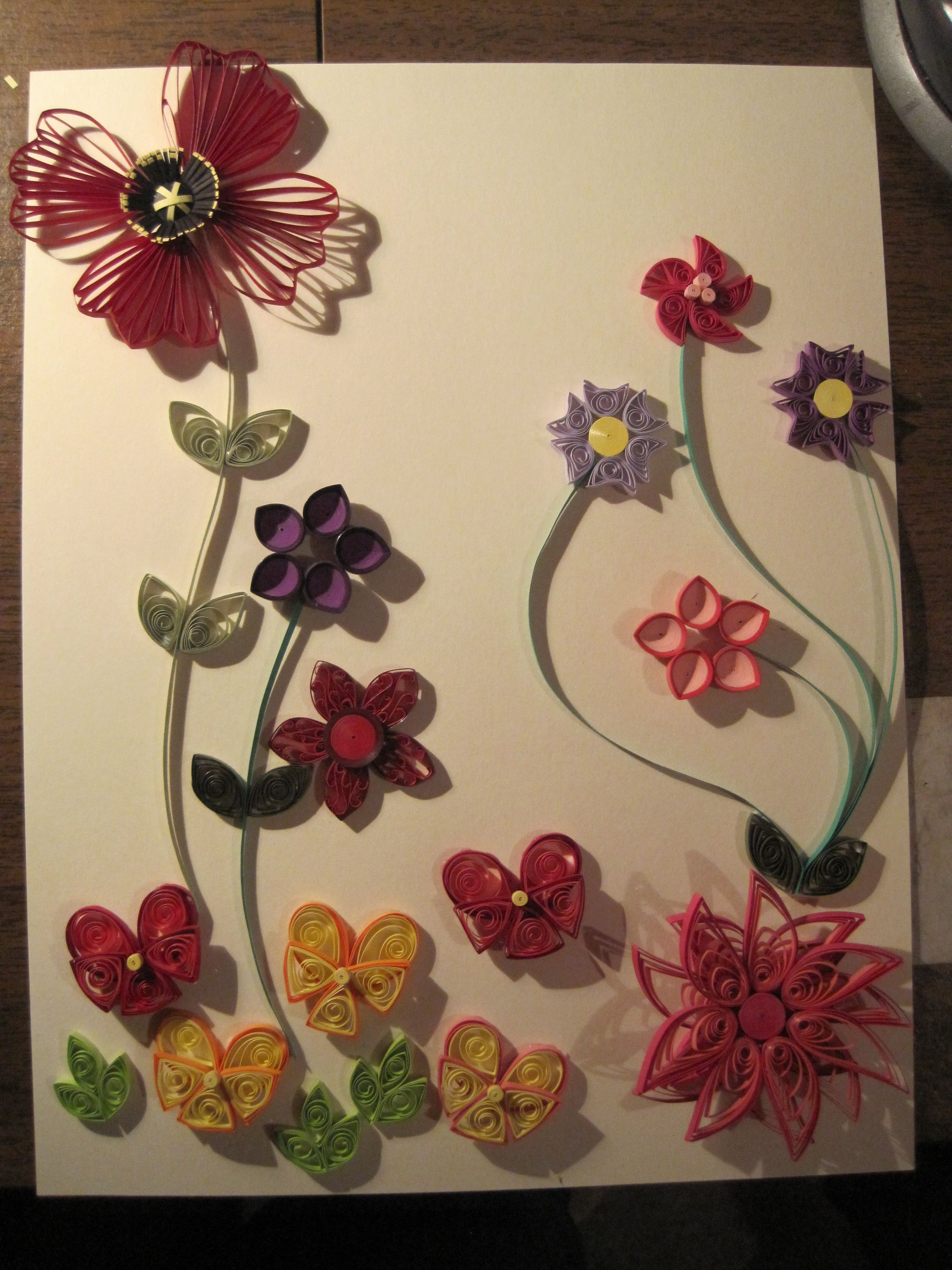 Paper quilling flowers i made quilling ive done pinterest paper quilling flowers i made mightylinksfo