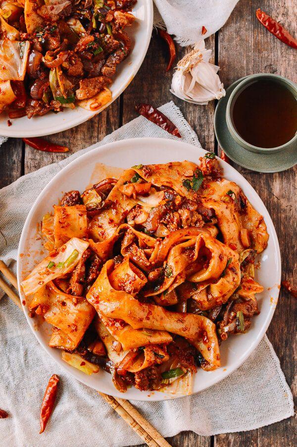 Spicy Cumin Lamb Biang Biang Noodles | Receita | Receitas ...