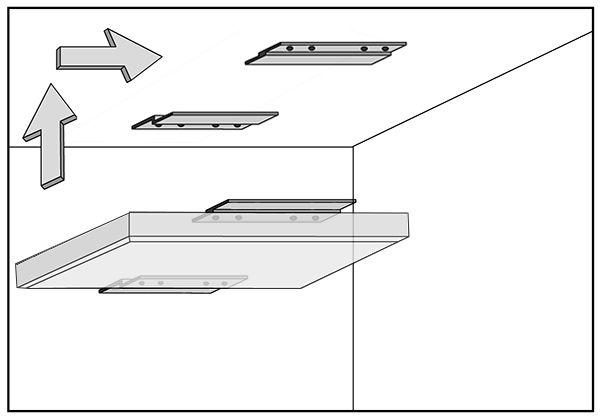 Delighted 12 Ceramic Tile Big 12X12 Tiles For Kitchen Backsplash Round 12X24 Tile Floor 2X2 Suspended Ceiling Tiles Youthful 2X4 White Ceramic Subway Tile Fresh4 Inch Hexagon Floor Tile Z Bar Installation Kit For Acoustic Panels   Acoustimac | Fixing ..