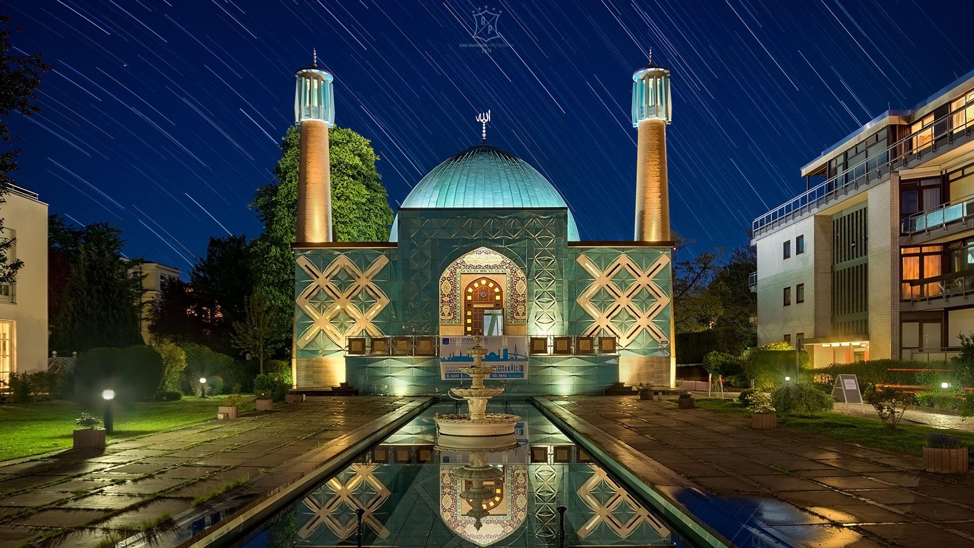 Картинки по запросу islamic center hamburg interior