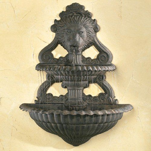Have to have it. Lion Art Wall Fountain $224.98 | Water features ...
