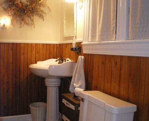 Wood Wainscoting Bathroom  Google Search  Bathroom Stuff New Wainscoting Bathroom Design Inspiration