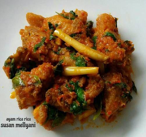 Resep Ayam Rica Rica Oleh Susan Mellyani Resep Resep Ayam Makan Malam Resep Masakan Sehat