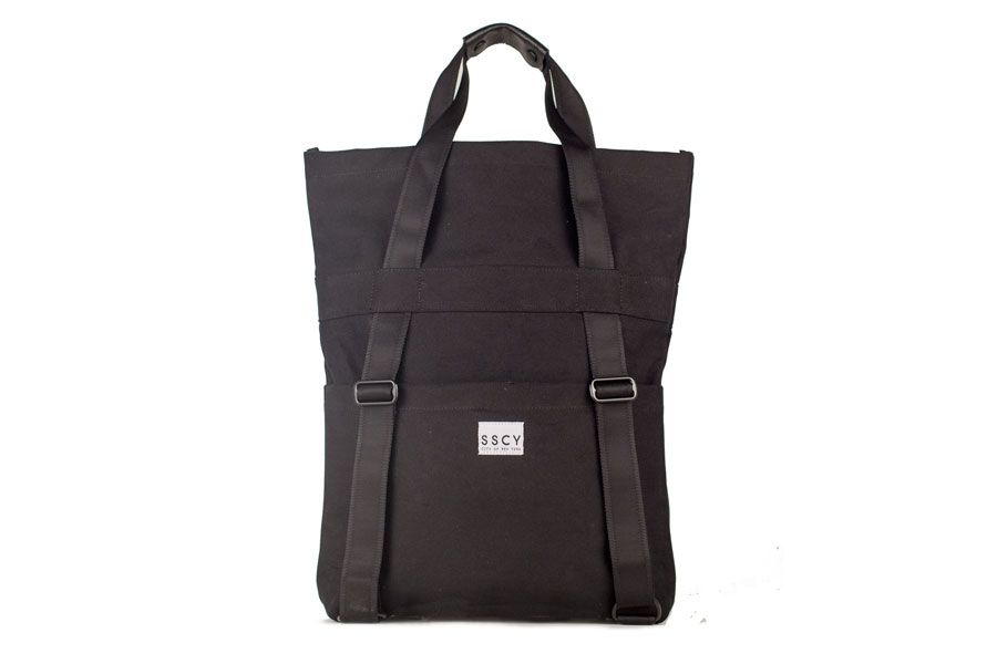 Tack Day bag by SSCY - the tote that converts to a backpack.