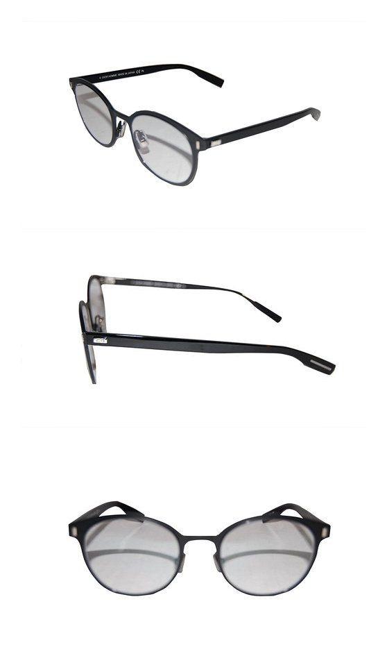 f143499a9d CHRISTIAN DIOR DEPTH 02 MGF BLACK EYEGLASSES  apparel  shoes  christiandior   prescription eyewear frames  shops  men  departments