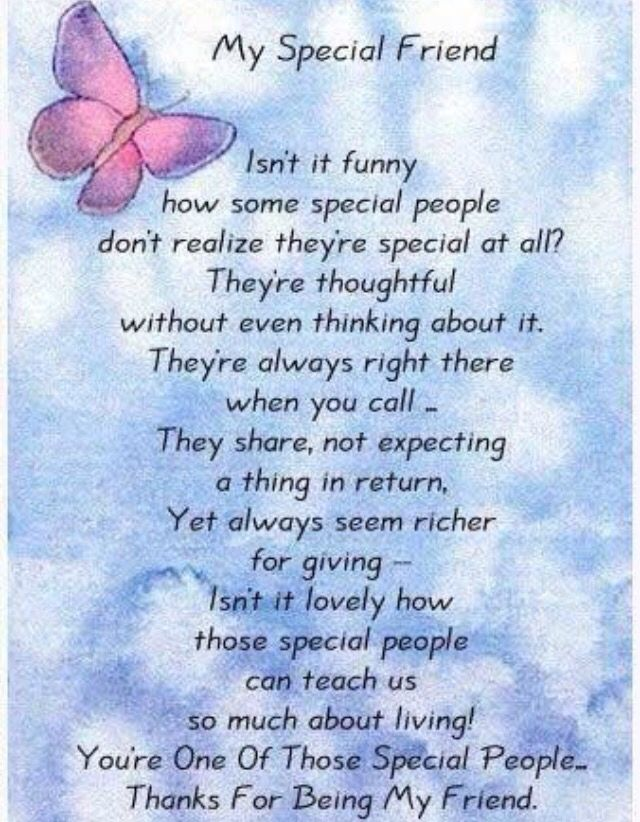 Thanks For Being My Friend Once Special Friend Quotes
