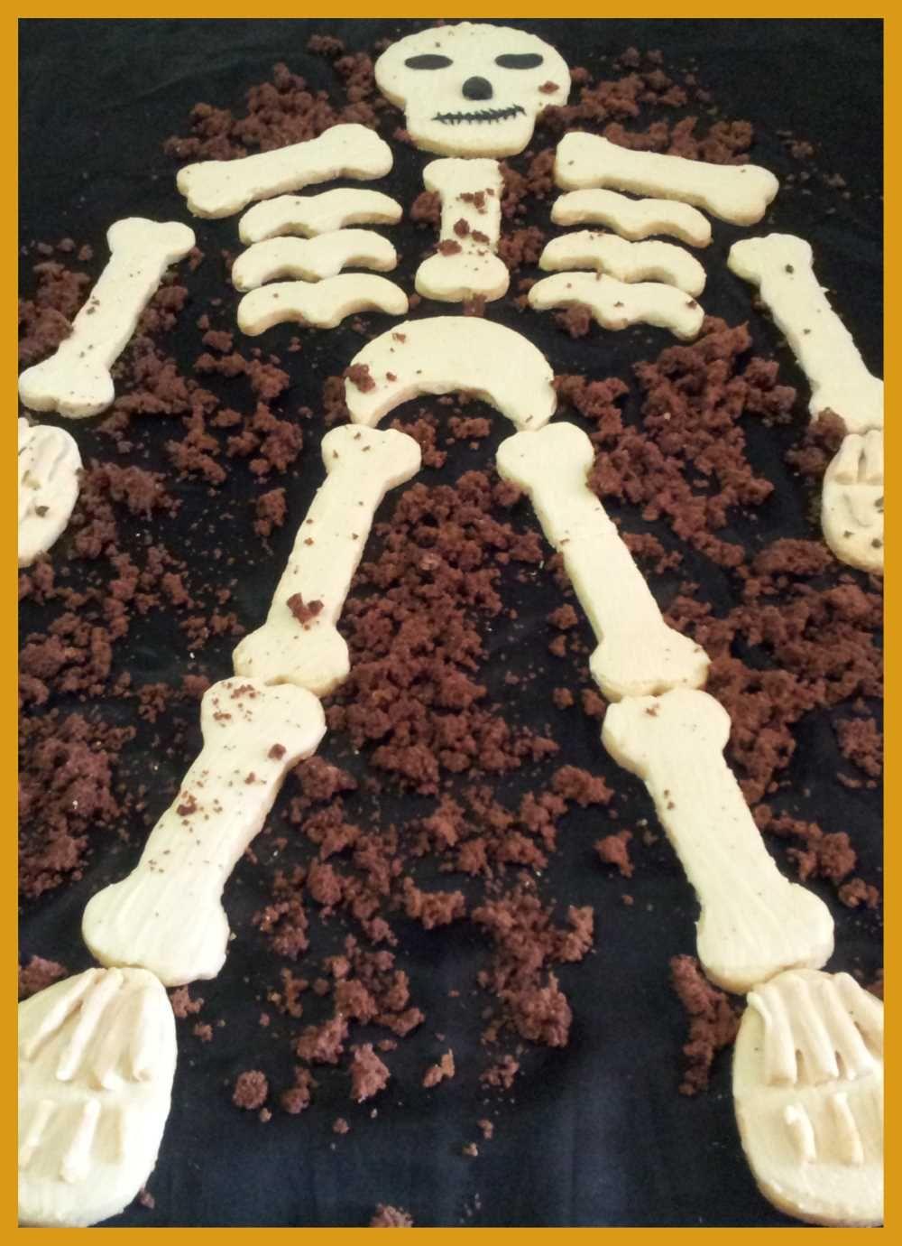 Biscotti di halloween scheletro Ricetta Ricette
