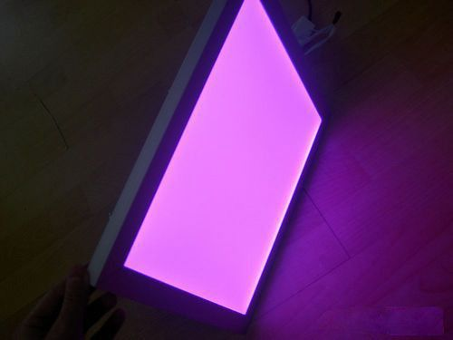 Plafoniere Led Rgb : Free shipping new arrival mm w rgb color led panel light