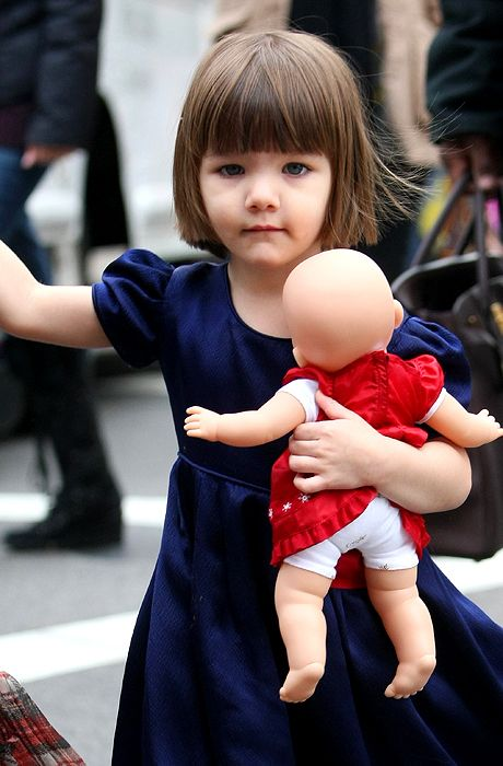 The Classic 2 Year Old Pageboy Haircut Suri Cruise Photo Getty