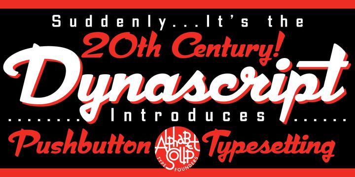 Font dňa – Dynascript (zľava 15%, od 42,50€) - http://detepe.sk/font-dna-dynascript-zlava-15-od-4250e/