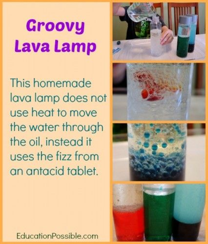 Groovy Science Activity – Make Your Own Lava Lamp | Lava lamp ...