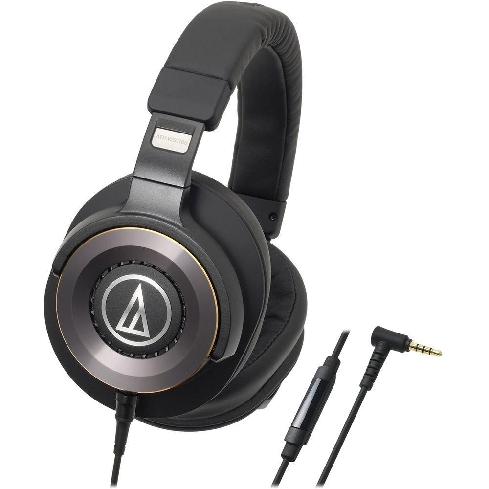 Audio Technica Solid Bass Ath Ws1100is Hands Free Headset Black Aud Athws1100is Best Buy Наушники Магазины