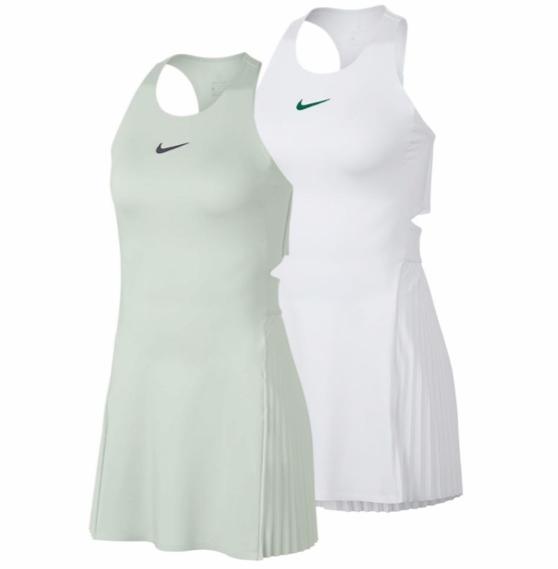 Compete Like The Fierce Maria In The Nike Women S Maria Court Tennis Dress This Classic White Dress Tennis Dress Outfit Tennis Outfit Women Nike Tennis Dress