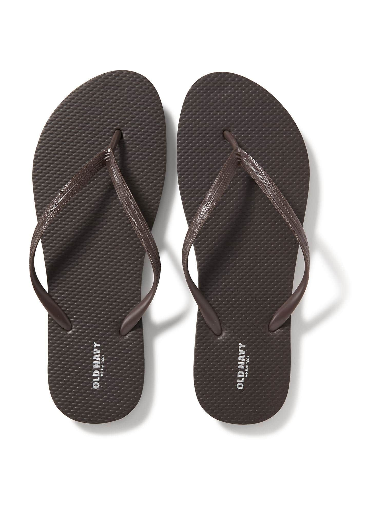 abbff7af06a5a Old Navy - Classic Flip-Flops for Women - Color is Bradley Brown