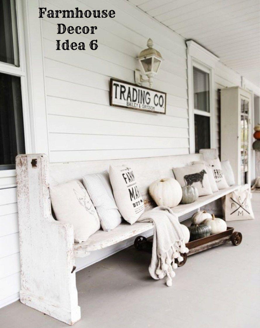 Farmhouse Decor!} Clean, Crisp & Organized Farmhouse Style Decor ...