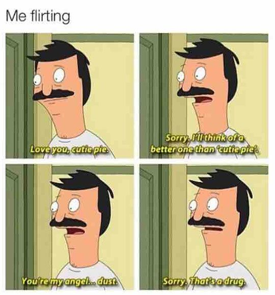 flirting memes with men names funny quotes love