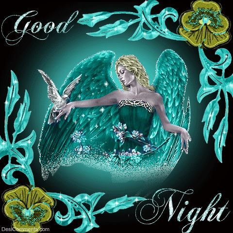 Good Night Hugs And Kisses Couple